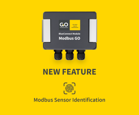 BlueConnect Modbus Sensor Identification